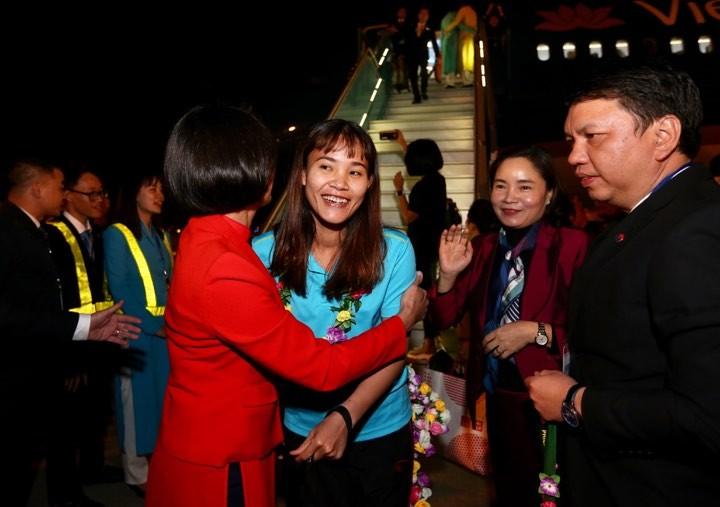 Hai đội tuyển VN dự lễ mừng công của Thủ tướng - ảnh 12