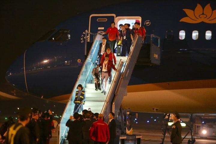 Hai đội tuyển VN dự lễ mừng công của Thủ tướng - ảnh 8