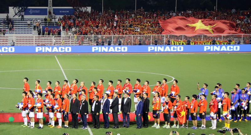 Hai đội tuyển VN dự lễ mừng công của Thủ tướng - ảnh 39