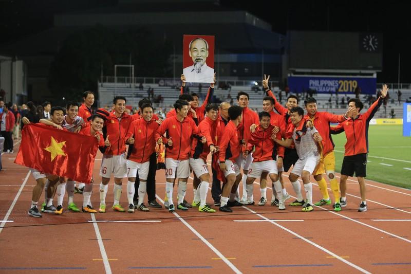 Hai đội tuyển VN dự lễ mừng công của Thủ tướng - ảnh 56
