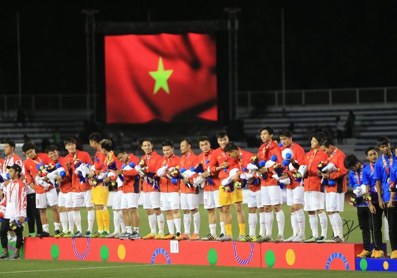 Hai đội tuyển VN dự lễ mừng công của Thủ tướng - ảnh 59