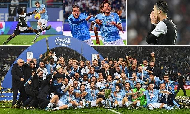 Ronaldo dỗi hờn vì Juventus bị Lazio 'cướp' siêu cúp nước Ý - ảnh 1