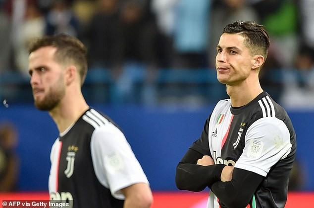 Ronaldo dỗi hờn vì Juventus bị Lazio 'cướp' siêu cúp nước Ý - ảnh 5