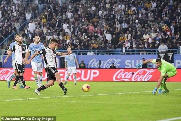 Ronaldo dỗi hờn vì Juventus bị Lazio 'cướp' siêu cúp nước Ý - ảnh 2