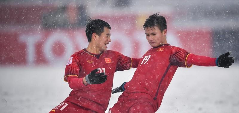 Quang Hải: 'Cầu vồng trong tuyết là khoảnh khắc rất xúc động' - ảnh 1