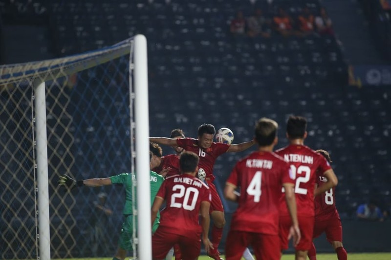 U-23 Việt Nam hòa may mắn U-23 Jordan - ảnh 2