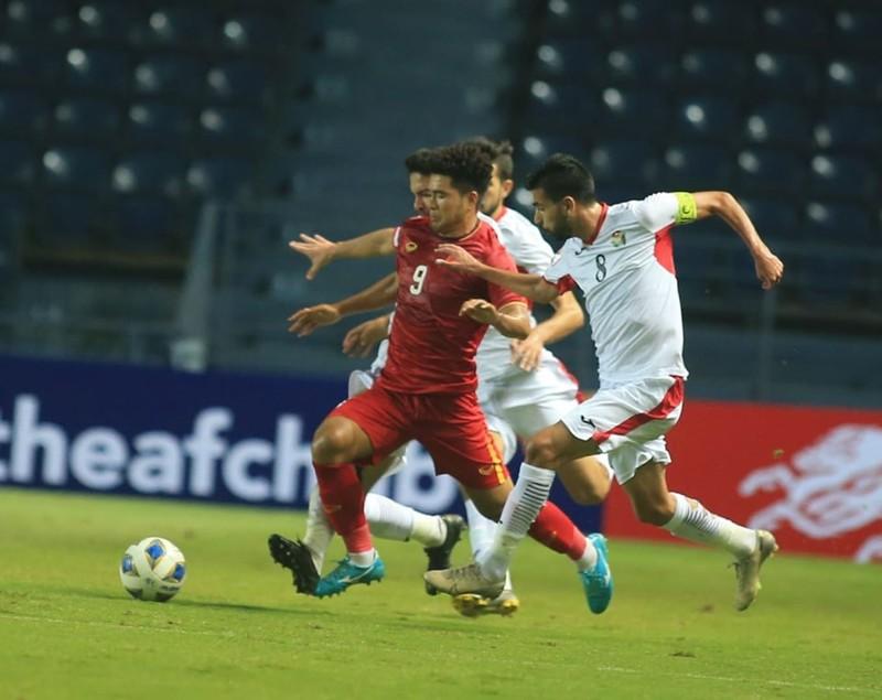 U-23 Việt Nam hòa may mắn U-23 Jordan - ảnh 1