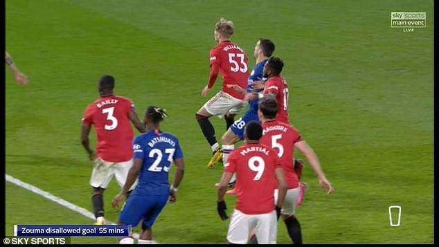 Chelsea thua MU trên sân nhà, Lampard nổi giận vì VAR - ảnh 3