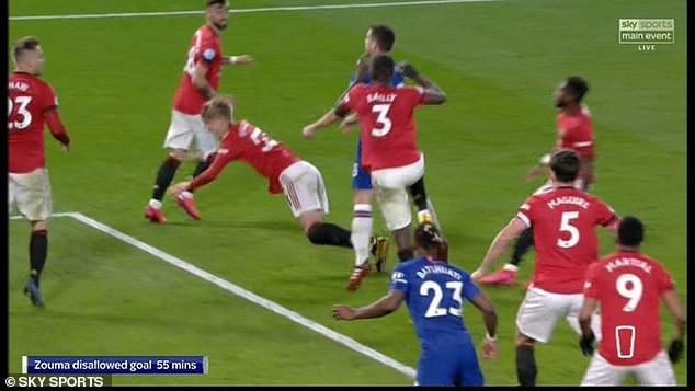 Chelsea thua MU trên sân nhà, Lampard nổi giận vì VAR - ảnh 4