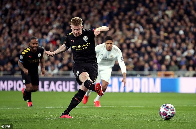 De Bruyne kinh ngạc vì Man City dùng đội hình dự bị thắng Real - ảnh 3