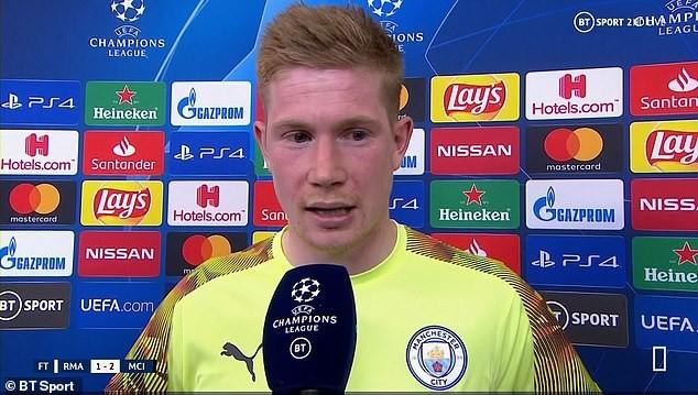 De Bruyne kinh ngạc vì Man City dùng đội hình dự bị thắng Real - ảnh 2