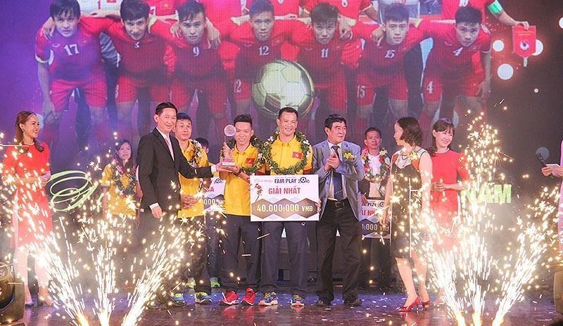Cơn địa chấn giúp Futsal Việt Nam lần đầu giành giải Fair Play - ảnh 1