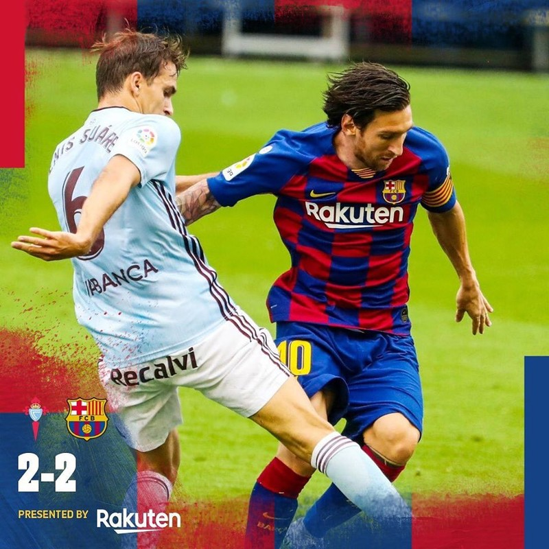 'Song sát' Messi và Suarez rực sáng, Barcelona vẫn mất điểm - ảnh 6