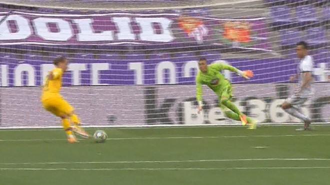 Thắng nhọc Valladolid, Barcelona níu hi vọng vô địch La Liga - ảnh 2