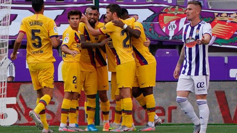 Thắng nhọc Valladolid, Barcelona níu hi vọng vô địch La Liga - ảnh 4