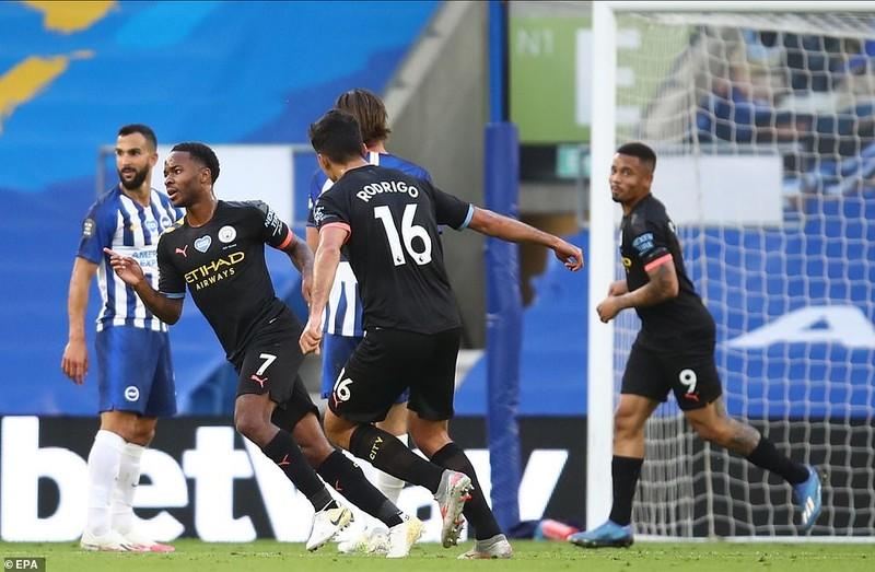 Thắng 'bàn tay nhỏ', Man City chính thức buông Premier League - ảnh 1
