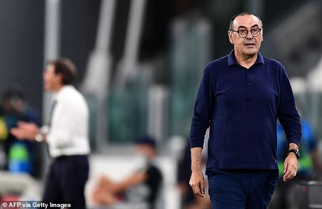 Bị Lyon loại, HLV Sarri của Juventus vẫn nói lời khó tin - ảnh 1