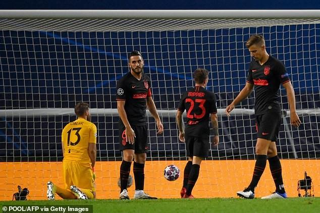 Atletico Madrid bị loại, xác định cặp bán kết đầu tiên C1 - ảnh 6
