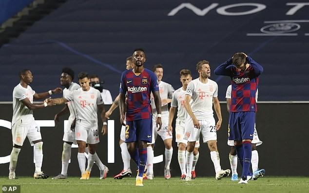 Barcelona thất bại ê chề, Pique nói quá khủng khiếp và xấu hổ - ảnh 2