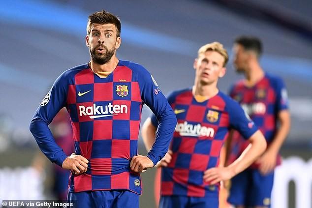 Barcelona thất bại ê chề, Pique nói quá khủng khiếp và xấu hổ - ảnh 3