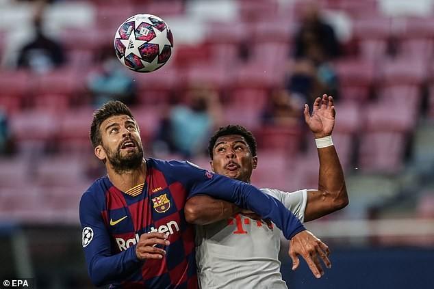 Barcelona thất bại ê chề, Pique nói quá khủng khiếp và xấu hổ - ảnh 1