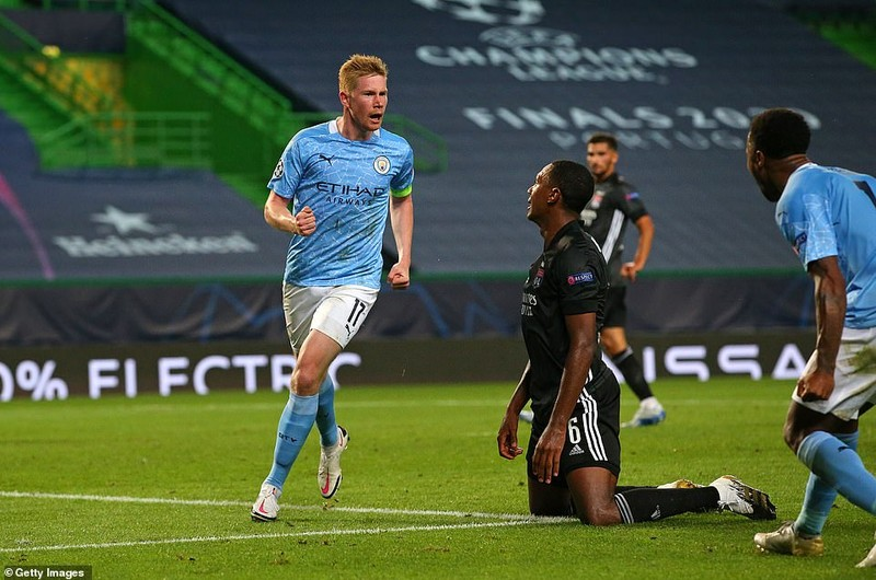 Siêu dự bị ghi 2 bàn, Lyon loại Man City khỏi Champions League - ảnh 4