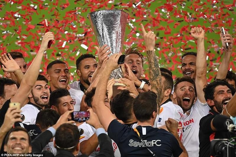 Lukaku hóa tội đồ, Sevilla vô địch Europa League lần thứ 6 - ảnh 14
