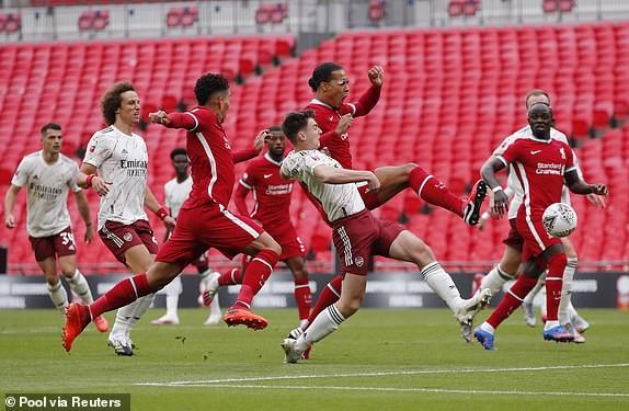 Aubameyang rực sáng, Arsenal hạ Liverpool vô địch siêu cúp Anh - ảnh 2