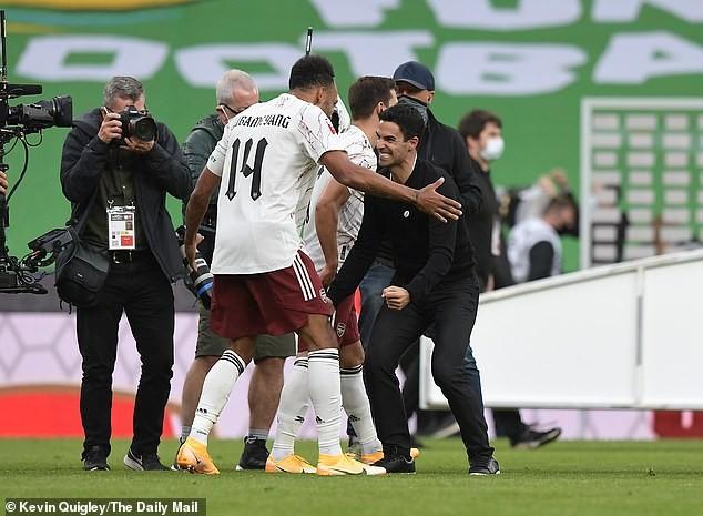 Arsenal vô địch siêu cúp Anh, HLV Arteta báo thêm tin vui  - ảnh 2