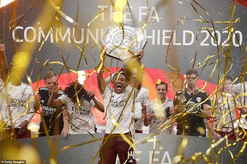 Aubameyang rực sáng, Arsenal hạ Liverpool vô địch siêu cúp Anh - ảnh 10