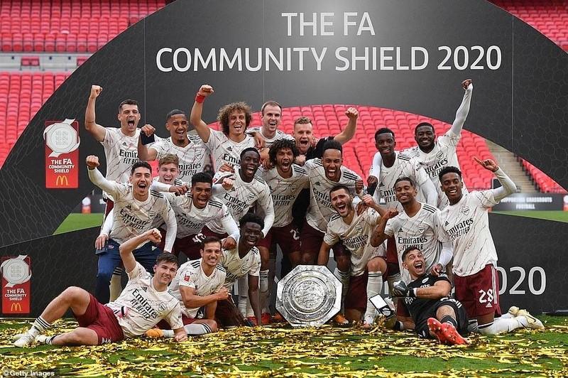 Aubameyang rực sáng, Arsenal hạ Liverpool vô địch siêu cúp Anh - ảnh 12