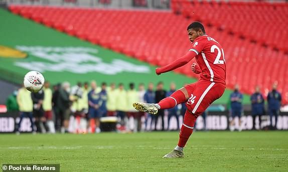 Aubameyang rực sáng, Arsenal hạ Liverpool vô địch siêu cúp Anh - ảnh 6
