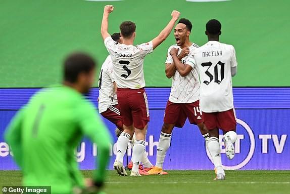 Aubameyang rực sáng, Arsenal hạ Liverpool vô địch siêu cúp Anh - ảnh 8