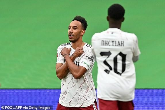Aubameyang rực sáng, Arsenal hạ Liverpool vô địch siêu cúp Anh - ảnh 7