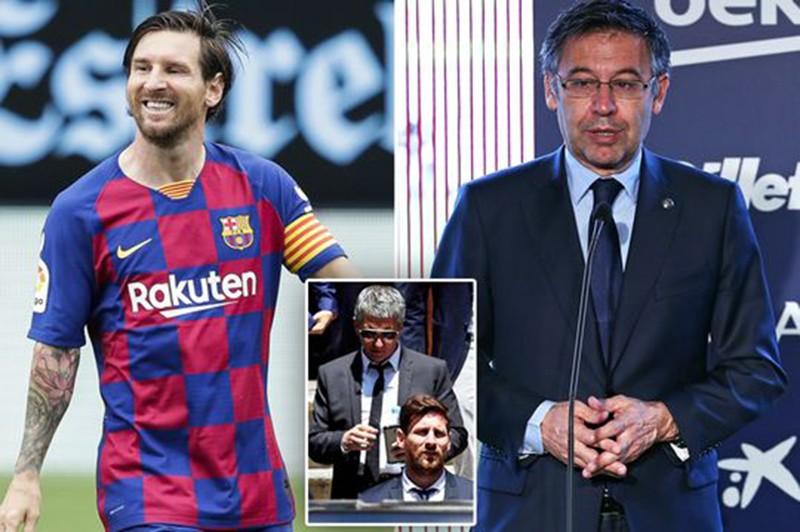 Messi đã nói gì trong tuyên bố chính thức ở lại Barcelona? - ảnh 4