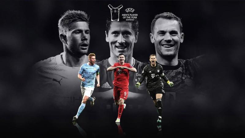 Nóng: Lewandowski, De Bruyne và Neuer tranh giải hay nhất năm - ảnh 1