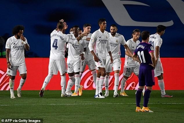 Real Madrid thắng khó Real Valladolid nhờ siêu dự bị - ảnh 4