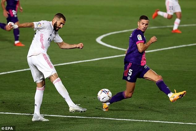 Real Madrid thắng khó Real Valladolid nhờ siêu dự bị - ảnh 1