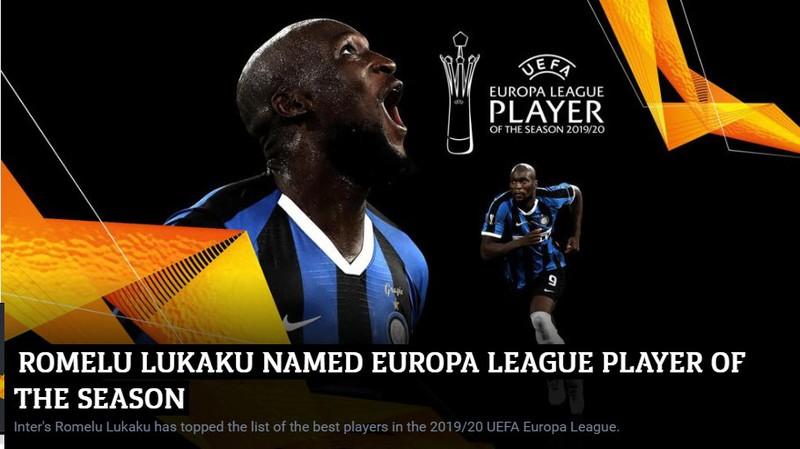 Bốc thăm Europa League: Lukaku giành giải xuất sắc nhất năm - ảnh 4