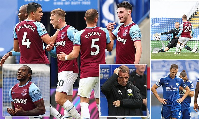 Arsenal bay vào Top 4 Premier League, Leicester City thua sốc - ảnh 5