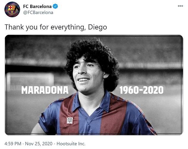 Thế giới tiếc thương huyền thoại Maradona: Messi nói gì? - ảnh 3