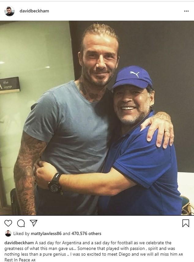Thế giới tiếc thương huyền thoại Maradona: Messi nói gì? - ảnh 14