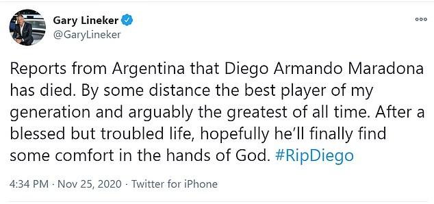 Thế giới tiếc thương huyền thoại Maradona: Messi nói gì? - ảnh 8