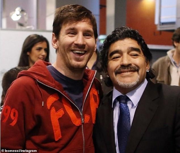 Thế giới tiếc thương huyền thoại Maradona: Messi nói gì? - ảnh 1