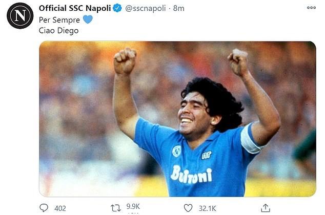 Thế giới tiếc thương huyền thoại Maradona: Messi nói gì? - ảnh 4