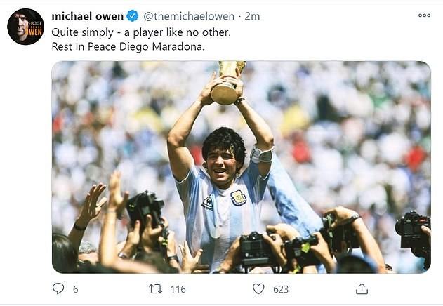 Thế giới tiếc thương huyền thoại Maradona: Messi nói gì? - ảnh 9