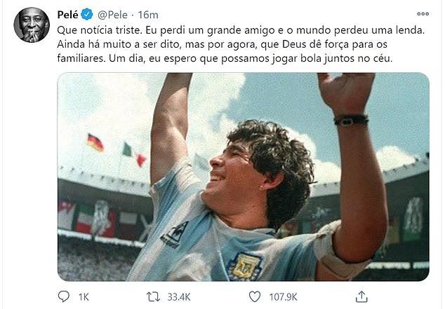 Thế giới tiếc thương huyền thoại Maradona: Messi nói gì? - ảnh 5