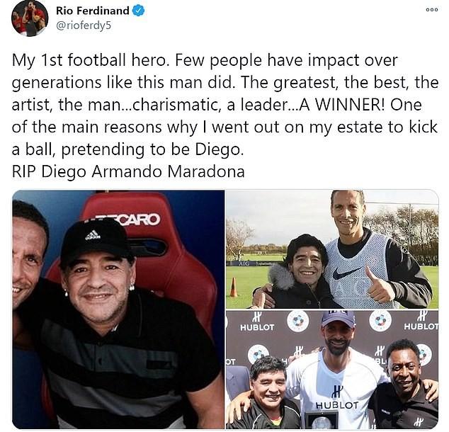 Thế giới tiếc thương huyền thoại Maradona: Messi nói gì? - ảnh 11
