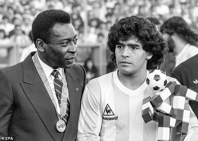 Chiến tranh và hòa bình giữa Maradona và Pele - ảnh 2