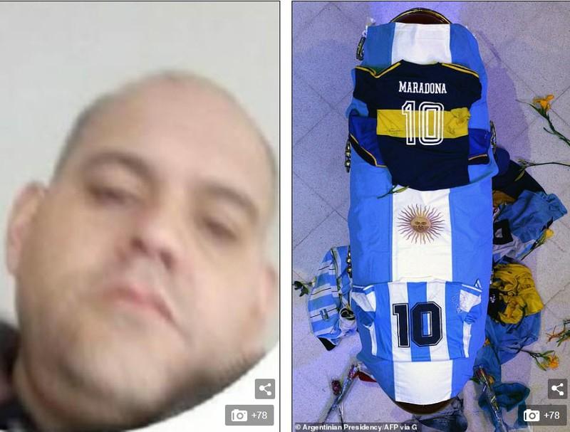 Anh ta phải chết vì xúc phạm thi thể Maradona - ảnh 1